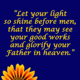 David Clode - Shine Christian poster