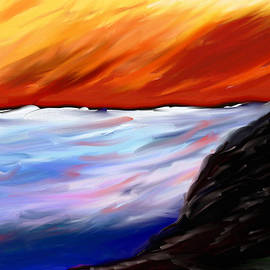 Eliza Donovan - Shining Sea - Abstract Art