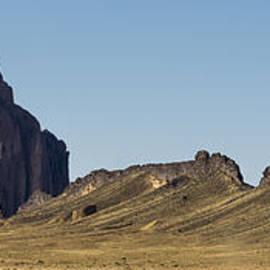 Brian Harig - Shiprock Panorama - North West New Mexico