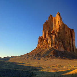 Alan Vance Ley - Shiprock Sunset