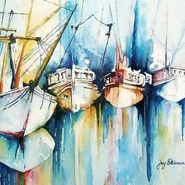 Joy Skinner - Ships Passing in the Night