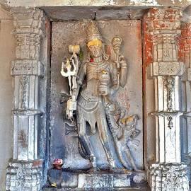 Kim Bemis - Shiva Statue - Omkareshwar India