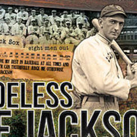Retro Images Archive - Shoeless Joe Jackson Panoramic