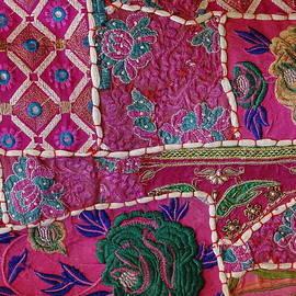 Sue Jacobi - Shopping Colorful Tapestry Sale India Rajasthan Jaipur