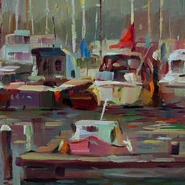 Tony Song - Shore boats
