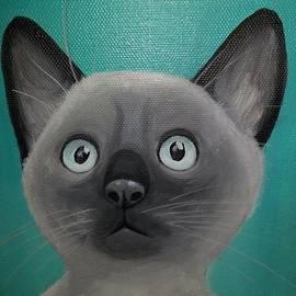 Lauren Hammack - Siamese Kitten Cuteness