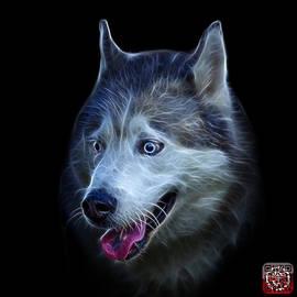 James Ahn - Siberian Husky Dog Art - 6062 - BB