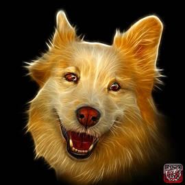 James Ahn - Siberian Husky Mix Dog Pop Art - 5060 BB