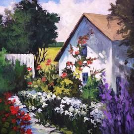 Mary Scott - Side Garden
