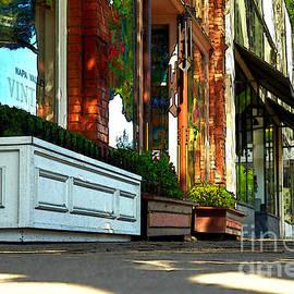 Sidewalk In Saint Helena
