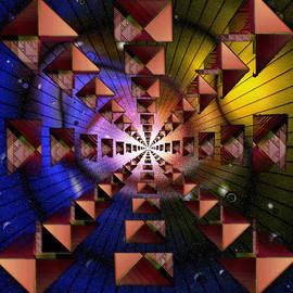Mario Carini - Sierpinski Universe