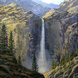 Frank Wilson - Sierra Nevada Waterfall