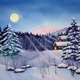 Eva Nichols - Sierra Winter Moon