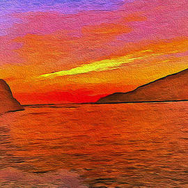 Laurence Canter - Sifnos Sunset #2
