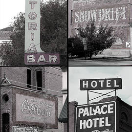Ann Powell - Signs in Salida photography collage