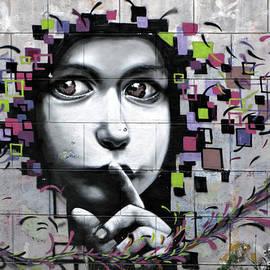 Daliana Pacuraru - Silent must be heard - GRAFFITI