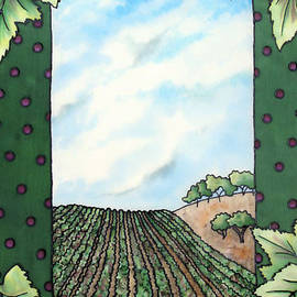 Nancy Goldman - Silk Vineyard