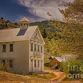 Priscilla Burgers - Silver City Idaho Schoolhouse