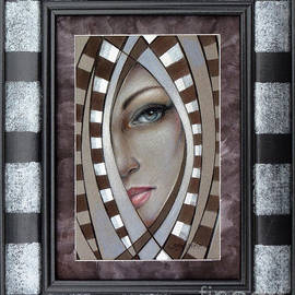 Selena Boron - Silver Memories 220414 FRAMED