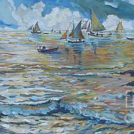 Vanessa Hadady BFA MA - Silver Tide