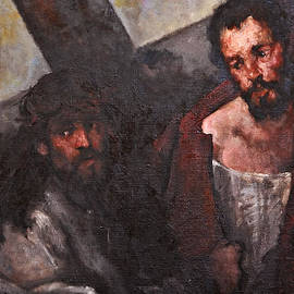 Dan Radi - Simon of Cyrene carries the cross