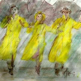 P J Lewis - Singing in the rain