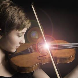 M K  Miller - Singing Strings Violin and Teenager