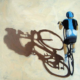Linda Apple - Single Focus bicycle art