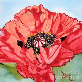 Diane Marcotte - Single Oriential Poppy