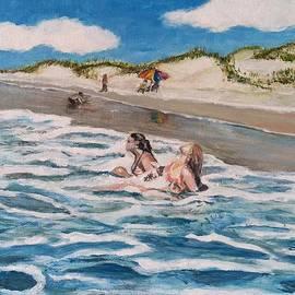 Asuncion Purnell - Sisters at the sea