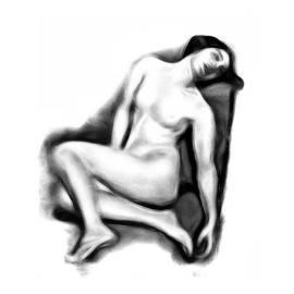 Stefan Kuhn - Sitting Nude