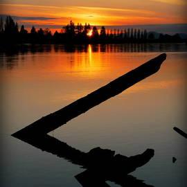 Christopher Fridley - Skagit River Sunset