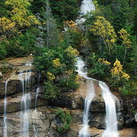 Michael Peychich - Skagway Waterfall Vertical Panorama