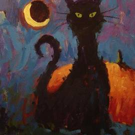 R W Goetting - Skanky the Cat does Halloween