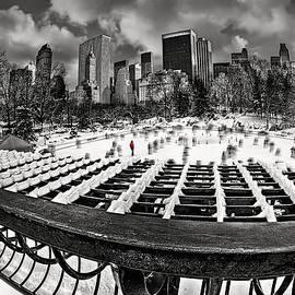 Susan Candelario - Skating In Central Park