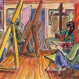 Joseph Levine - Sketch Club 3