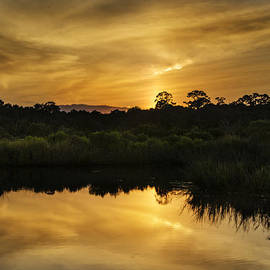 Island Sunrise and Sunsets Pieter Jordaan - Sky on fire II