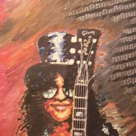 Corina M - Slash - Guns N