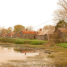 Ronald Olivier - Slave quarters at Laurel Valley Plantation