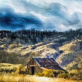 Dale Stillman - Small Barn in the Hills