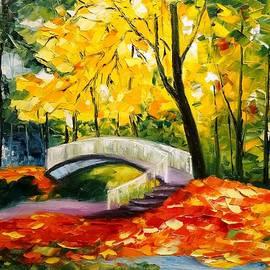 Ojars Bluzma - Small Bridge in Park
