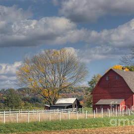 Marcel  J Goetz  Sr - Small Country Red Barn