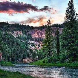 Renee Sullivan - Smith River at Dusk