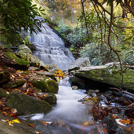 Debra and Dave Vanderlaan - Smoky Mountain Waterfall
