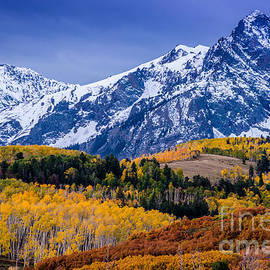 Gary Whitton - Sneffels Range Fall Sunrise - Dallas Divide - Colorado