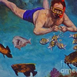 John Malone - Snorkeling and Feeding the Fish