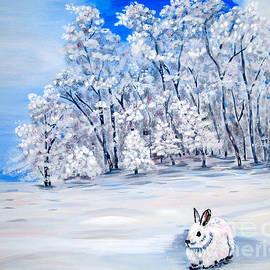 Phyllis Kaltenbach - Snow Bunny