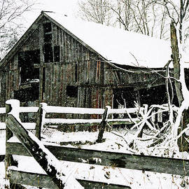 Kimberleigh Ladd - Snow Covered Barn