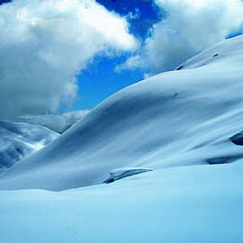 Colette V Hera  Guggenheim  - Snow Face in the  Mountain