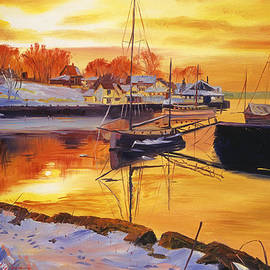 David Lloyd Glover - Snow Harbor